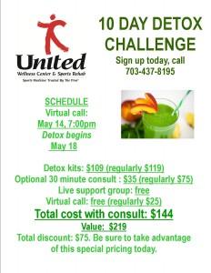 10 day spring detox challenge